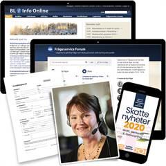 BL Info Online, Forum och Frågeservice